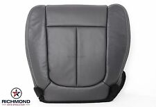 2010 F-150 Lariat FX2 FX4 XLT -Driver Bottom Perforated Leather Seat Cover Black