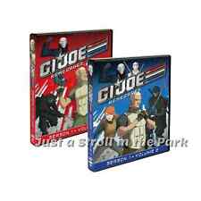 G.I. Joe Renegades: Complete TV Series Season 1 Volumes 1 & 2 Box/DVD Set(s) NEW