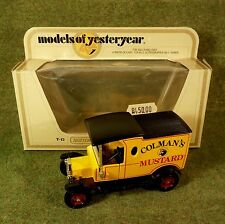 Matchbox Lesney LKW Auto Models of Yesteryear Y-12 Ford Model T 1912  M 1:35 OVP