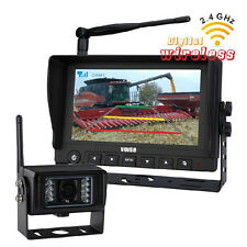 "7"" Digital Wireless Car Rear View Camera & CMOS Agriculture Back up Camera"