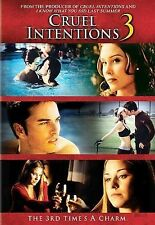 Cruel Intentions 3 DVD, Kerr Smith, Kristina Anapau, Nathan Wetherington, Meliss