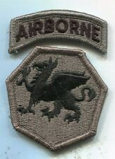 US Army 108th Airborne Division ACU Patch