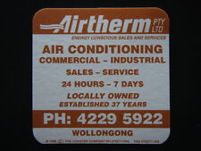 AIRTHERM PTY LTD AIR CONDITIONING WOLLONGONG 42295922 COASTER