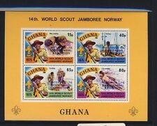 14th World Scout Jamboree Norway Ghana 185a Souvenir Pane - Item #3993