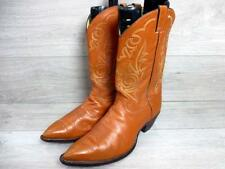 JUSTIN MENS WESTERN/COWBOY BOOTS SIZE UK 14 BROWN GOOD CONDITION CODE-EA6253