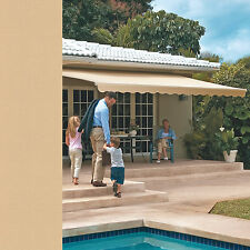 18 FT Motorized Retractable Awning by SunSetter Awnings - Shade your Deck