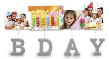 Photo Clips Photo Holders  BDAY   (8200-500)