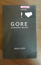 Gore Running Wear Women's Essential Lady Brief, White, Sz. Extra Small