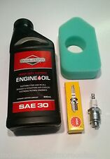 ENGINE SERVICE KIT- BRIGGS & STRATTON 698369 AIR FILTER, SPARK PLUG AND OIL