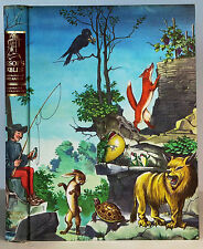 Aesop's Fable Illustrated Junior Library Fritz Kredel Hardcover~1947