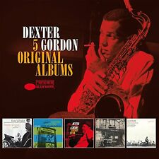 DEXTER GORDON - 5 ORIGINAL ALBUMS - NEW CD BOX SET
