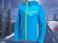 Spyder Mens XXL / 2XL Eiger Waterproof Technical Shell Ski Snowboard Jacket Nwt
