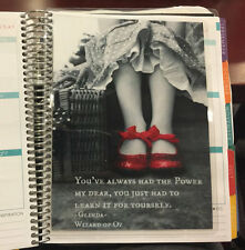 Red Slipper Quote Dashboard made for use w/ Erin Condren Life Planner