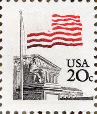 US 1895g @ (1981) 20c -MNH/OGnh - EFO: MAJOR ERROR {99% - Dark Blue Omitted}