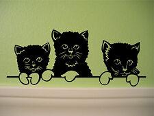 Kittens Wall Sticker Wall Art Decor Vinyl Decal Stickers CUTE!! Cats
