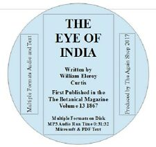 """""""The Eye of India"""" by William Eleroy Curtis  Audiobook with Microsoft & PDF Text"""