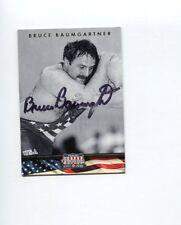 Bruce Baumgartner US Olympic Gold Sliver Bronze Wrestler Signed Photo Card