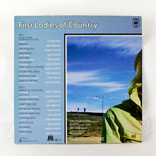 """Various Artists - First Ladies of Country 12"""" LP 1980"""