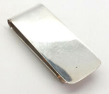 Fine Men's Plain Sterling Silver 925 Money Clip 18g