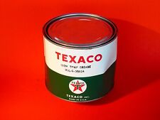 Old Aviation Texaco High Temp - MIL-G-3545A Grease Can Tin Advertising Colletor
