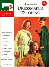 Singer Sewing Library Lot of 3 Vintage 1960s Booklets Tailoring Bedspreads