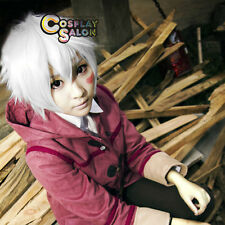Future City NO. 6 Shion Cosplay Short White Layered Basic Anime Cosplay Wig+Cap