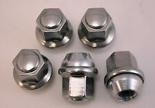 5 New Chrysler 300 Factory OEM Stainless Polished Chrome Lug Nuts Lugs FreeShip