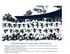 1964 BUFFALO BISONS 8X10 TEAM PHOTO NEW YORK METS AAA THRONEBERRY JONES SWOBODA