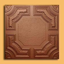 40 pc Antique Ceiling Tile - 20x20 CARACAS Metallic Copper