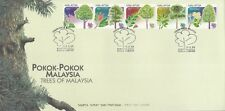 Trees Of Malaysia 1999 Plant Flower Leaf Flora (stamp FDC)