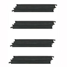 "Micro Scalextric 1:64 Track Spares - G102 / L7552 - 9"" Medium Straight x 4"