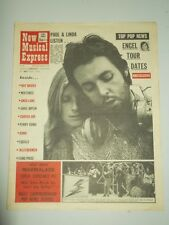 NME #1256 FEBRUARY 20 1971 PAUL LINDA MCCARTNEY RAY DAVIES GREG LAKE WEATHERMEN