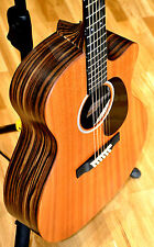 Martin GPCX2AE Macassar Acoustic Electric Zager EZ-Play Modified Guitar