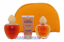 Sublime by Jean Patou 4PC Gift Set In Original Retail Box For Women Very RARE