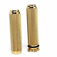 1'' SOLID BRASS GRIPS HARLEY CHOPPER BOBBER CFL