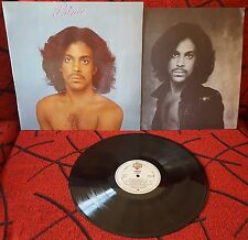 PRINCE *2nd Album* VERY SCARCE Spain ORIGINAL PRESS w/INSERT 1980 LP NO BAR CODE