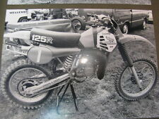 Photo Honda CR125R #1 Motorcross Markelo (NED) 1981