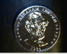 1984 Abraham Lincoln, 175th Anniversary, Gold/Silver Plated  (US-4167)