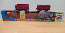 Tomy Plarail Trackmaster Thomas - Lady in Box plus 2 Extra Trucks *RARE* VGC