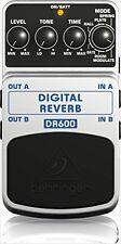 BEHRINGER DIGITAL REVERB DR600 reverb Effect pedal effector Guiter From Japan