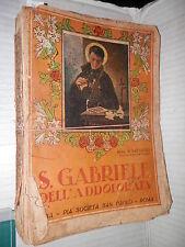 SAN GABRIELE DELL ADDOLORATA Chierico Passionista S Battistelli San Paolo 1932
