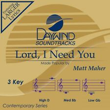 Matt Maher - Lord I Need You - Accompaniment CD New