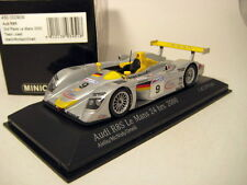 Audi R8 #9, McNish 2nd 2000 Le Mans Race Cars, Minichamps 430000909 Diecast 1/43