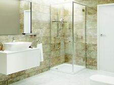 Regal PVC Wall Cladding Pastel Blend Tile Effect 2700mm x 250mm x 8mm