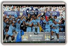 Manchester City Premier Leauge Champions Team  Fridge Magnet 02 Man City