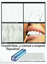 PUBLICITE ADVERTISING 046  1969  le dentifrice Pepsodent 2