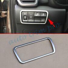Chrome Light Switch Cover Garnish For Kia Sportage 2016-17 Interior Accessories