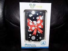 Disney Parks MINNIE MOUSE BOW iPhone 4S Cell Phone Cover NEW