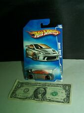 Hot Wheels -  Honda Silver Civic Si - Modified Rides - Orange Windows - 2009