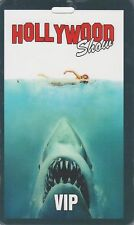 Jaws Limited Edition Hollywood Show VIP Pass Double Sided Steven Spielberg